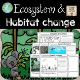 Ecosystems and Changes to the Environment