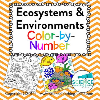 Ecosystems and Environments Color-by-Number