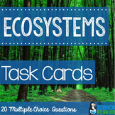 Ecosystems Vocabulary Task Cards