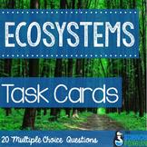 Ecosystems Vocabulary Task Cards