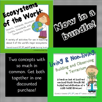 Living Things & Ecosystems Bundle