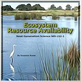 Ecosystems and Resource Availability: Next Generation Science MS-LS2-1