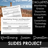 Ecosystems and Weathering, Erosion, and Deposition Project