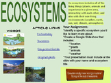 Ecosystems assignment hyperdoc