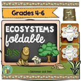 Ecosystems-Interactive Science Notebook foldables