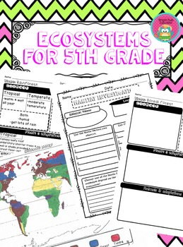 Ecosystems for 5th Grade