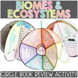Ecosystem Activity   Circle Book Craftivity Printable & Di