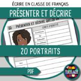 French/FFL/FSL - Writing - Describing someone