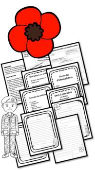 Écrire une lettre à un soldat ou une soldate - Jour du souvenir