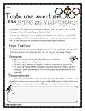 Écriture- Jeux Olympiques 2018 - Récit - 2e cycle