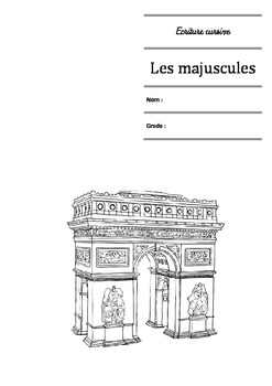 Ecriture cursive française - Les majuscules