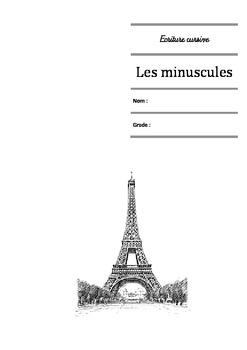 Ecriture cursive française - Les minuscules