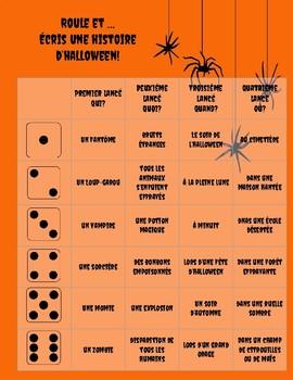 Écriture d'Halloween