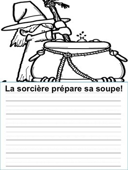 Écriture sans préparation (French Writing prompts) L'Halloween, French Halloween