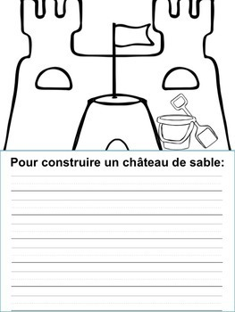 Écriture sans préparation (French Writing prompts) L'été, fin de l'année