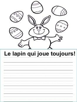 Écriture sans préparation (French Writing prompts) Le printemps,  Pâques)