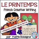 Écriture créative pour LE PRINTEMPS et PÂQUES  I French Spring Creative Writing