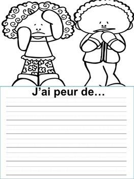 Écriture sans préparation (French Writing prompts) Moi, ma famille