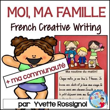 Écriture sans préparation (French Writing prompts) Moi, ma