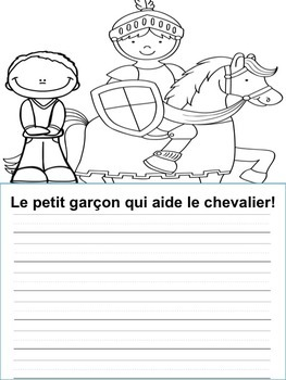 Écriture - Monstres - Pirates - Chevaliers - Princesses -French Writing prompts