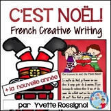 Écriture sans préparation (French Writing prompts) Noel, La nouvelle année