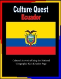 Ecuador Culture Activity