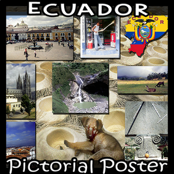 Ecuador  Photo Poster - Horizontal