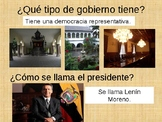 Ecuador PowerPoint for Spanish Class