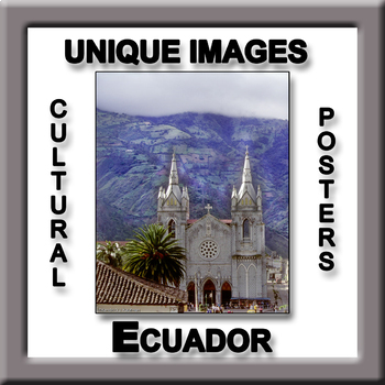 Ecuador in Photos Poster - Vertical