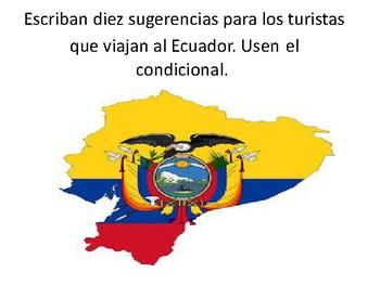 Ecuador y el Condicional (Model for a project)