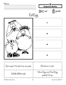 Ed Egg (Sequence Stories)