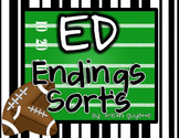Ed Ending Sort and Other Activities