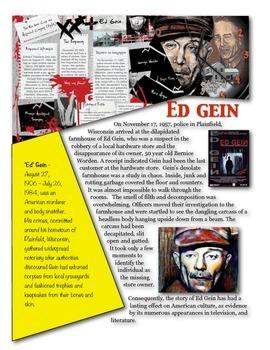Forensics - Ed Gein