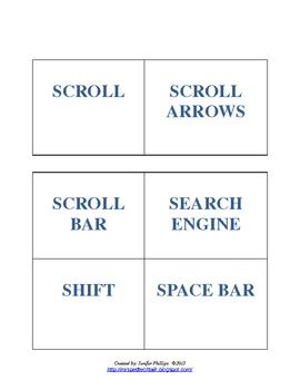 Ed Tech Vocab. Matching Game