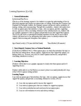 Edtpa Sample Lesson Plan Early Childhood Education By Away In Primary