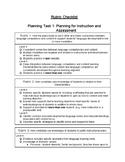 EdTPA TESOL Rubric Checklist