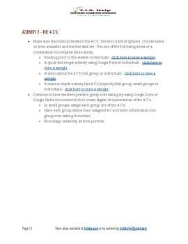 EdTech n Ten - G Suite & the 4 C's