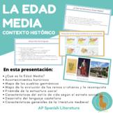 Edad Media: Contexto histórico/social/cultural