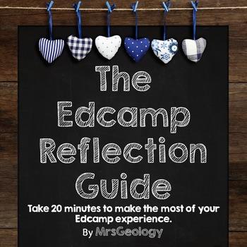 Edcamp Reflection Guide