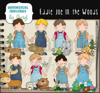 Eddie Joe On The Farms Clipart Collection