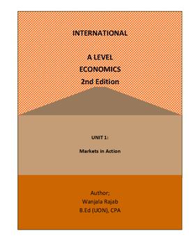 Edexcel A Level Economics Unit 1 (Full Notes): markets in Action