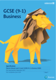 Edexcel GCSE Business (9-1) THEME 1