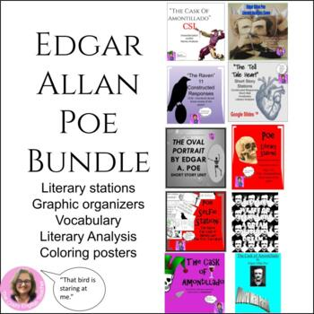 Edgar Allan Poe Bundle of lessons:
