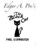 "Edgar A. Poe's ""The Black Cat"" Quiz (60 Multiple Choice Questions w/ Key)"
