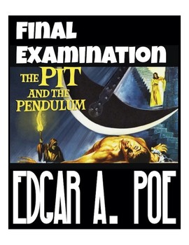 "Edgar A. Poe's ""The Pit and the Pendulum"" Quiz *Answer Key included)"