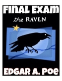 "Edgar A. Poe's ""The Raven"" Quiz (Answer Key included)"
