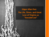"""Edgar Allan Poe:  The Life, Times, and Great Love of Virginia as """"Annabel Lee"""""""