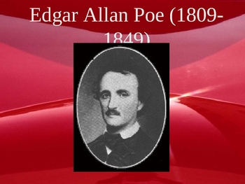 Edgar Allan Poe 20 Slide Powerpoint--Life and Works
