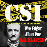 Edgar Allan Poe- A CSI Activity! Was he MURDERED??