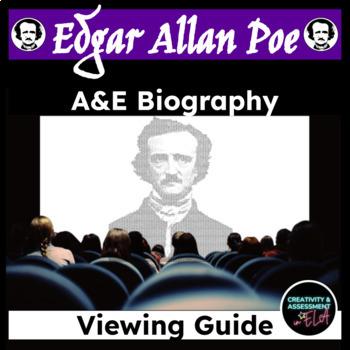 Edgar Allan Poe  - A&E Biography Fill-In-The-Blank Worksheet